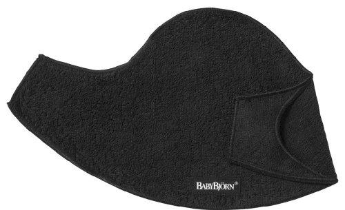 BabyBjörn Pack de 2 Baberos para Mochila Porta Bebé, Negro