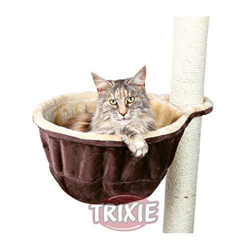Trixie 43910 Kuschelsack mit Metallrahmen, ø 38 cm, beige/braun