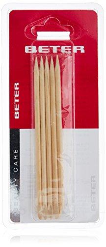 Beter Batonnets Bois d'Orange Repousse Cuticules Kit de Manucure