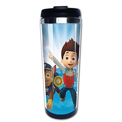Paw Patrol Prime - Taza de agua con aislamiento para taza de café de acero inoxidable, diseño de taza de café