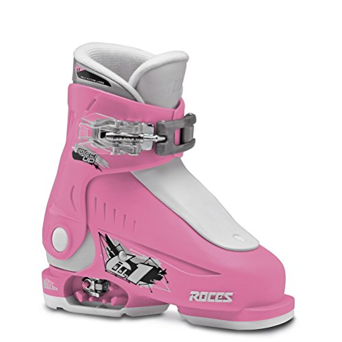 Roces Idea Up G Girls Ski Boots 2016 - 1618/Deep Pink