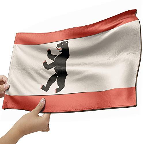 Berlin Flagge als Lampe aus Holz - schenke deine individuelle Berlin Fahne - kreativer Dekoartikel aus Echtholz