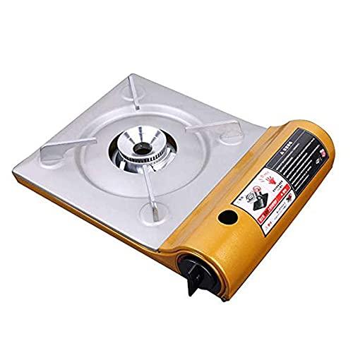 NXYJD YYLHWCHJU Cassette al Aire Libre Estufa de Gas portátil Luz de Viento a Prueba de Viento Barbacoa de Gas para Acampar Senderismo Barbacoa Parrilla de Cocina
