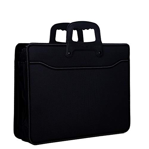 Handige Business Expanding Aktetas Document Tas, Bestand Organizer Folder Portfolio Draagtas voor B5/A4 formaat Bestand, Contract, Tablet etc