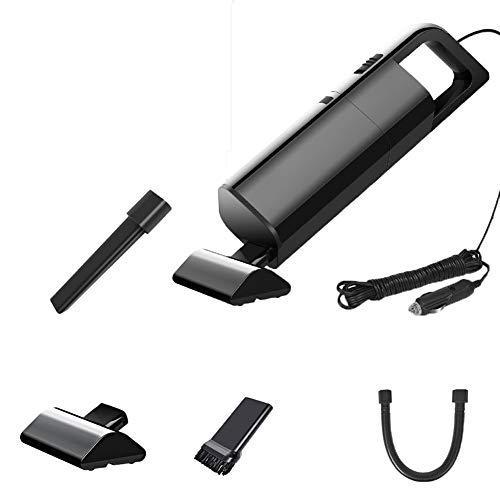 xMxDESiZ 120W 12V Handheld Wet/Dry Leistungsstarker Staubsauger für die Heimreinigung Schwarz