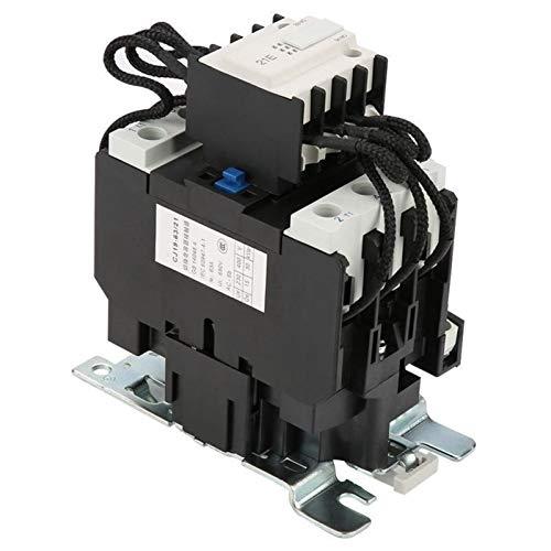 L-Yune,bolt 1pcCJ19-63/21 63A de conmutación de condensadores Deber contactor AC Condensador Contator...