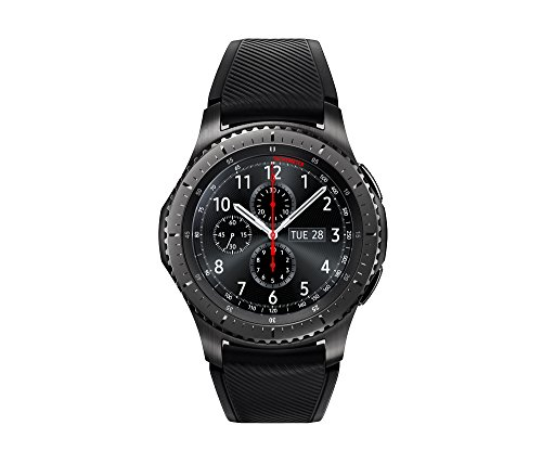 Our #1 Pick is the Samsung Gear S3 Frontier Smartwatch With Bluetooth