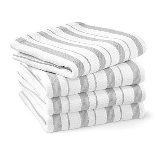 Williams-Sonoma Classic Striped Towels, Set of 4 (Drizzle)