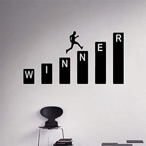 Business Winner Wall Decal Vinyl Sticker Home Interior Office Wall Decor Art Mural Housewares Design 58 x 30 cm
