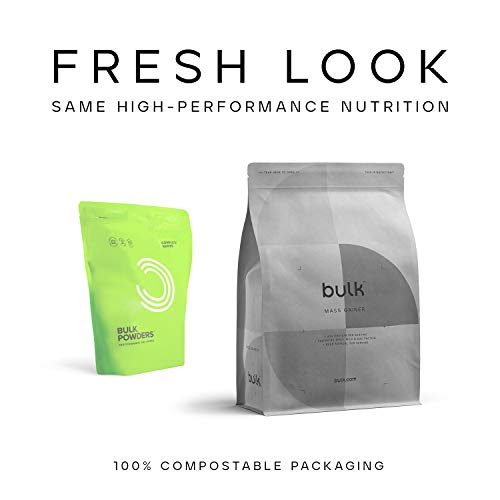 Bulk Mass Gainer, Protein Shake for Weight Gain, Banana, 1 kg, Packaging May Vary