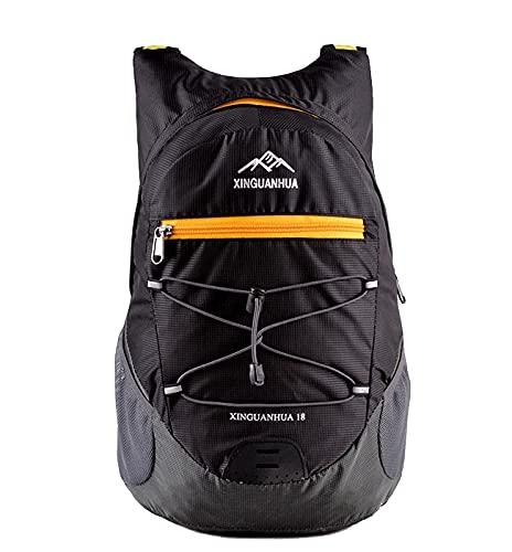 Idefair Faltbarer Reiserucksack, leichter Tagesrucksack Camping Rucksack Wasserdichter Rucksack für Männer Frauen Gehen Camping Klettern Trekking Radfahren Outdoor-Sportarten