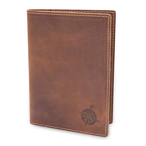 Leather Passport Holder Travel Wallet