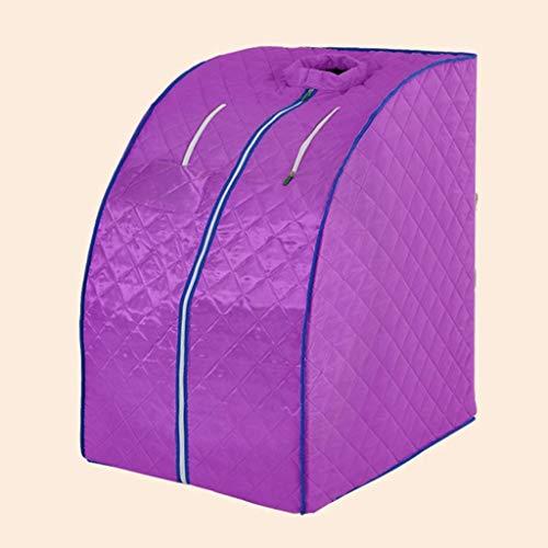 HIZLJJ Portable Safe Folding Far FIR Infrarot-Sauna Spa Zelt Abnehmen Weight Loss + Negative Ionendetox Sauna Begasung Sauna Bad Sauna Box-Dampfer
