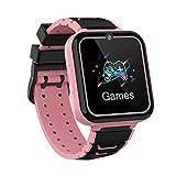 Winnes Reloj Inteligente Niño,Reloj Niño con Llamada,Tarjeta SD de 1GB ,7 Juegos Smart Watch...