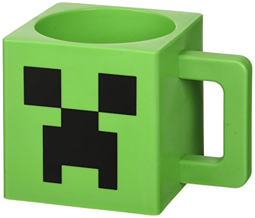 Minecraft- Taza CREEOER Face, Multicolor, One Size (Jinx Inc. 4601MG)