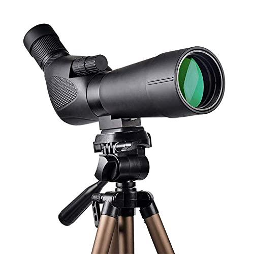 SHKUU Binoculares de Alta Potencia, binoculares para Adultos Compacto HD Claro Luz débil Visión Observación de Aves BAK4 Lente FMC Soporte para teléfono Correa Bolsa de Transporte, portátil