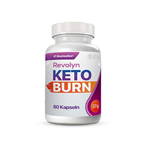 Revolyn Keto Burn - Diätpille für effektiven Gewichtsverlust | Lieferung nach DE-AT nur 3 Tage (mit DPD) (1 Flasche)