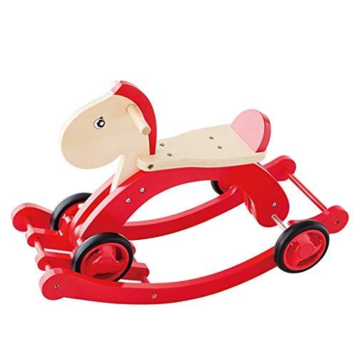 Cheval à bascule LINGZHIGAN Les Enfants de Double Usage de Troie Rocking Horse Baby Toy Pedal Voiture Bébé Cadeau d'anniversaire