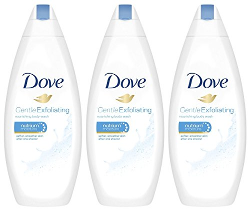 Dove Gentle Exfoliating Body Wash with Nutrium Moisture 16.9 Ounce, Pack of...