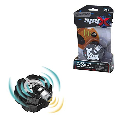 SpyX / Micro Motion Alarm - Protect Your Stuff with This Fun Motion Alarm Spy Toy. Detects Motion OR Vibration! Perfect Addition for Your spy Gear Collection!