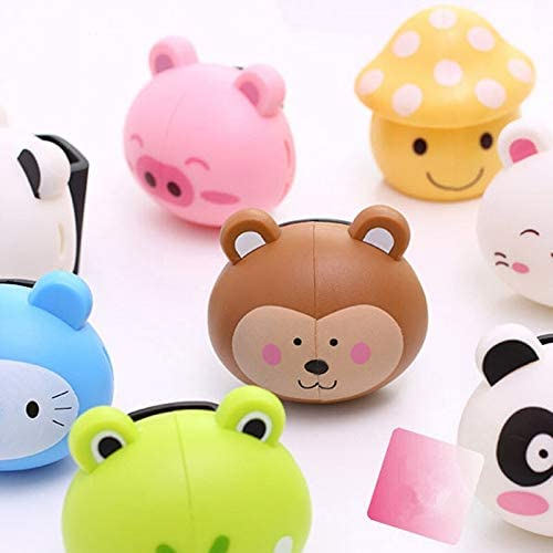 YIXING Cute Various Cartoon Animal Stand Holder Minneapolis High material Mall Head Toothbrush