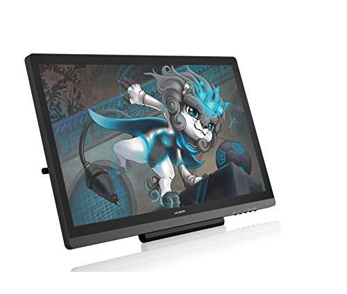HUION Nueva Kamvas 20 2019 Tableta Gráfica con Pantalla, Versión de Actualización Kamvas GT-191 V2 Monitor de Dibujo, 120% sRGB, ± 60 ° de inclinación, PW507 Stylus Kamvas GT-191 V3