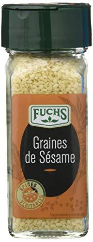 FUCHS Épices Véritables Graines de Sésame Flacon 52 g