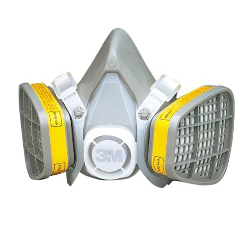 3M Large 5000 Series Half Face Disposable Air Purifying Respirator