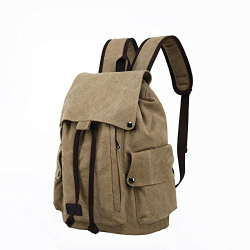 Canvas Backpack Female Casual Fashion Outdoor Travel Backpack Male Campus Student Bag 4 40 * 30Cm