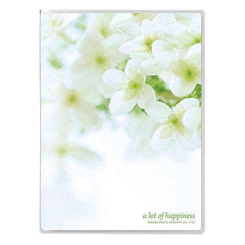 ハクバ HAKUBA アルバム PポケットアルバムNP Lサイズ 20枚 フラワーホワイト APNP-L20-FWW