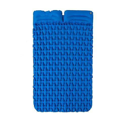 jzhi Inflatable cushion Camping Sleeping Pad Mattress Lengthened Inflatable Mat Portable With Air Bag Camping Mat Ultralight