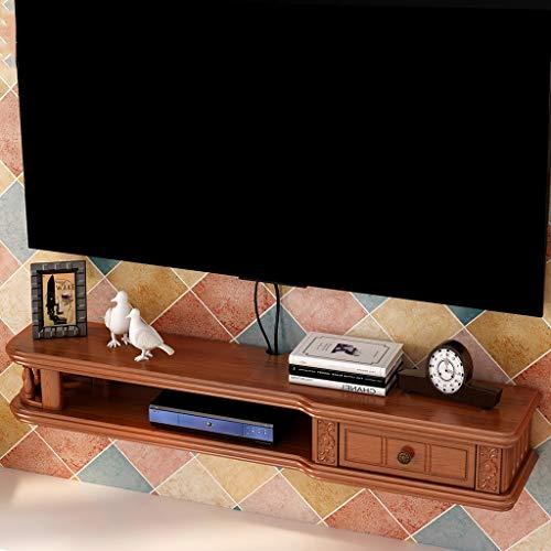 Étagère Étagère murale flottante meuble de télévision meuble de télévision set top étagère pour console de rangement console meuble étagère de rangement (taille : 80cm)