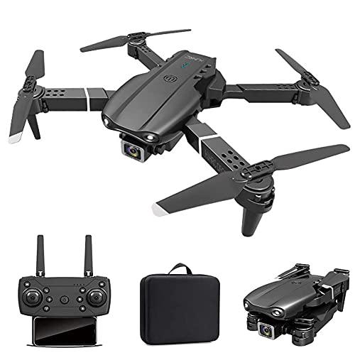 Drone con cámara GPS plegable FPV Drone con cámara 4K HD Video en vivo para principiantes, RC Quadcopter con GPS Return Home, Sígueme, Control de gestos, Circle Fly, Auto Hover y Transmisión Wifi