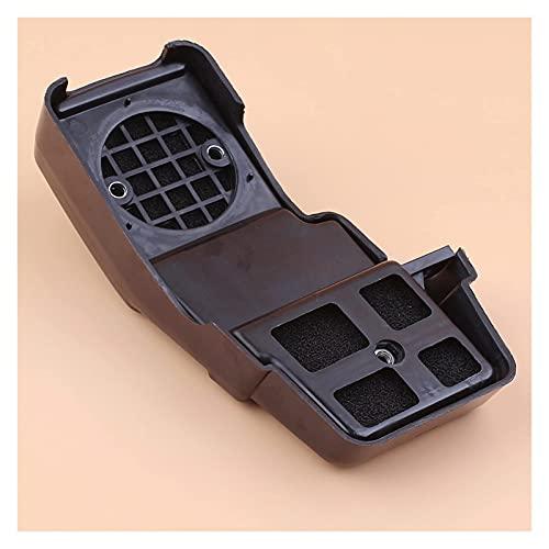 Conjunto de carcasa de filtro de aire compatible con R-obin NB411 BG411 Accesorios de desbrozadora y cortadora de cepillo de 2 tiempos con kit de espuma de limpieza de elementos