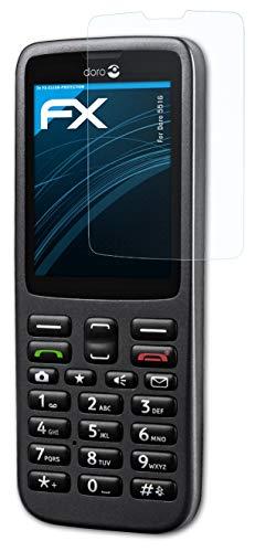 atFolix Schutzfolie kompatibel mit Doro 5516 Folie, ultraklare FX Bildschirmschutzfolie (3X)