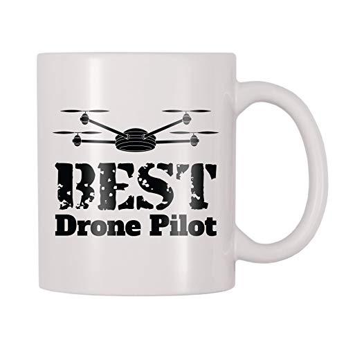4 All Times Best Drone Pilot Coffee Mug (11 oz)