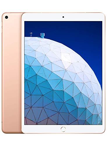 Apple iPad Air 3 10.5' Gold 64GB WiFi / Cellular Tablet (Renewed)
