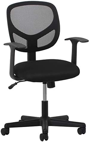 Best OFM Mat  ikea Desk Chair - OFM Essentials Collection Mesh Back Office Chair, in Black