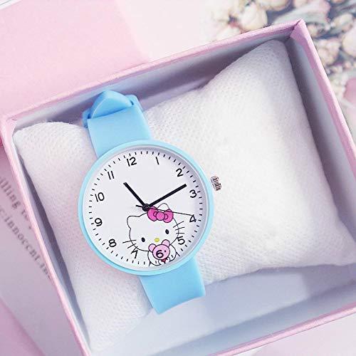 Relojes Relojes De Dibujos Animados De Moda Relojes para Niños Lindos Reloj para Niños Reloj De Pulsera De Regalo para Fiesta De Cumpleaños Bluenoboxbracel