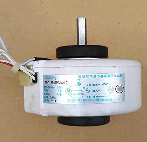 Popular Motore del ventilatore interno del condizionatore del motore del ventilatore interno RPG18F RPG20D RPG18H-2 Adatta per il midea Aria condizionata Accessori Parti di riparazione Nuovo durable
