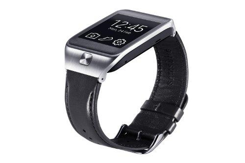 Samsung ET-SR380LBEGWW Samsung Leder Armband Schwarz für Samsung Galaxy Gear 2/Gear 2 Neo -