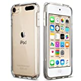 DN-Technology iPod 7 Case, iPod Touch 6 Case, iPod Touch 5 Case, [Fusion] Clear Back TPU Gel Case [Drop Protection/Shock Absorption Technology] For Apple iPod 7 (7th generation) Case