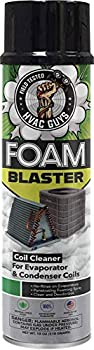 HVAC Guys - Foam Blaster  18oz  - Penetrating Coil Cleaner - For AC and Refrigeration Units - Clean and Deodorize Evaporator  No-Rinse  & Condenser Coils - Neutral Citrus Scent