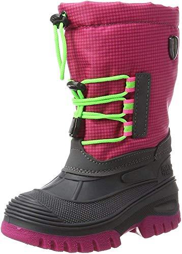 CMP Campagnolo Ahto WP, Chaussures de Randonnée Hautes Garçon Mixte Enfant, Rose (Pink Fluo), 32 EU