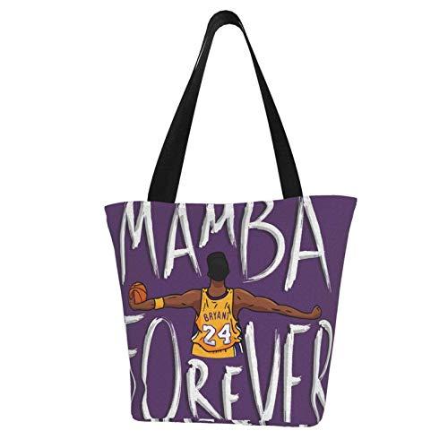 Mamba Forever - Bolso de lona informal para mujer