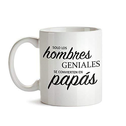 Tassenwerk Taza de Café Blanca con Mensaje – Taza de Graduación para Papás – Taza de Café como Idea para el Día del Padre – Regalo Ideal para Papás Primerizos – Obsequios para Hombres
