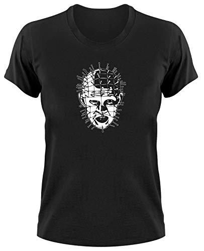 Hellraiser Pinhead Kult Horror T-Shirt, schwarz Ladies, XL