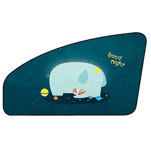 Fijnere Universele Magnetische Autohoes Zonnescherm Gordijn Autoruit Zonneklep Cover Protector voor Baby kinderen, E