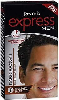 Restoria Express Men Dark Brown Hair Colour - 80 gm