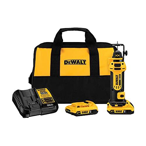 DEWALT 20V MAX Drywall Cut-Out Tool Kit (DCS551D2)